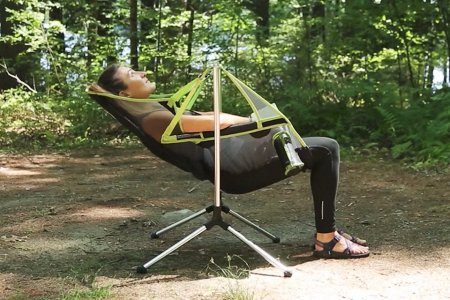 A Campsite Easy Chair, Because No One Can Tell You Where to Relax