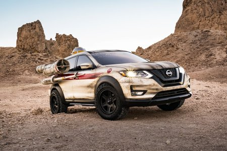 An X-Wing-Inspired Nissan Rogue Is Proof That All Is Right in the Galaxy