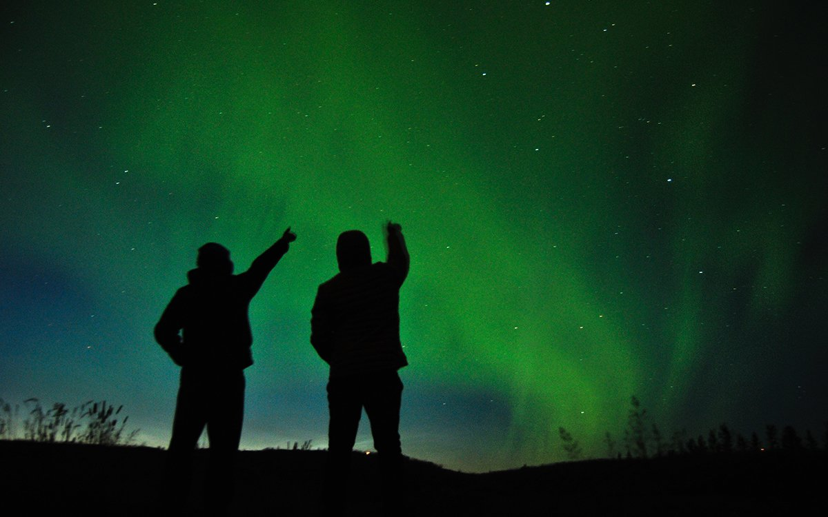 Not a Drill: You Can Actually See the Northern Lights in the U.S. Tonight