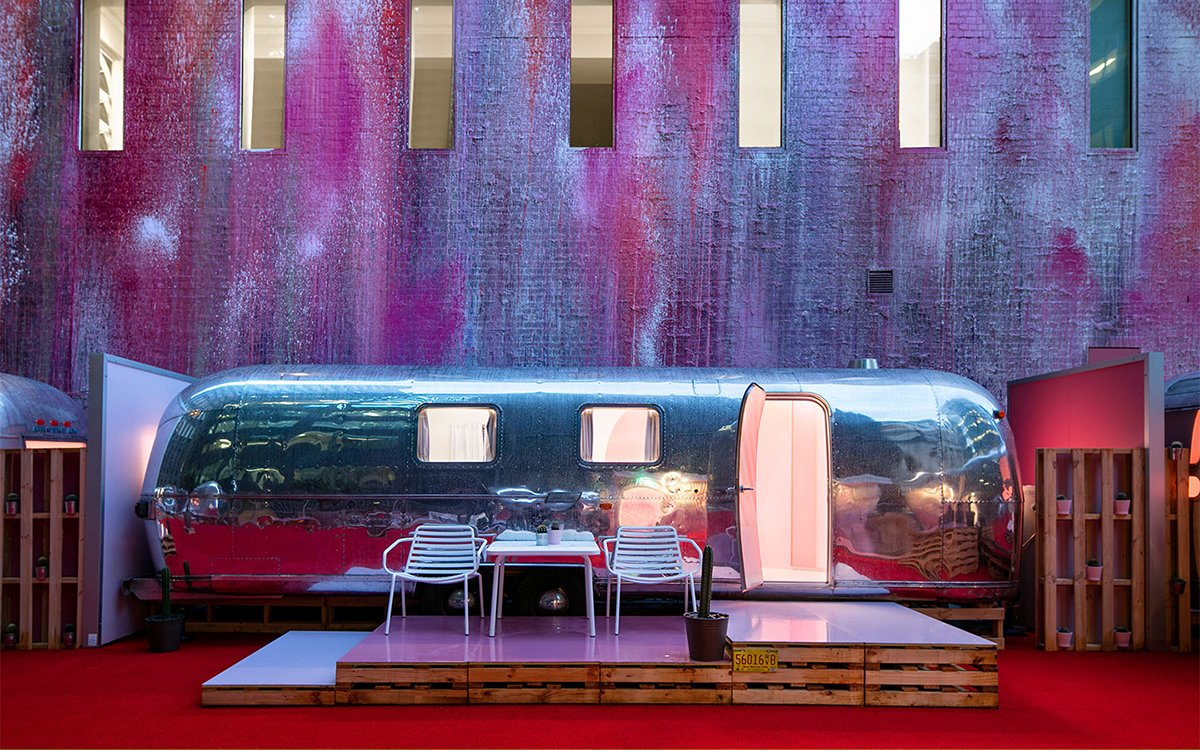 The Rooftop Airstream Hotel of Your Dreams Is Open for Business