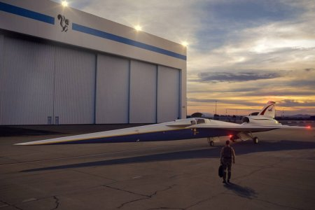 NASA and Lockheed Martin's Supersonic Jet Is About to Take Off … Quietly