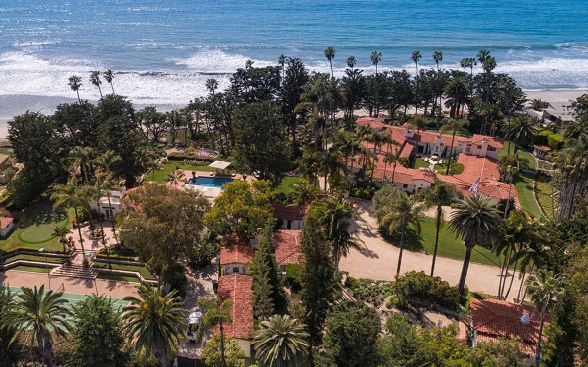 Richard Nixon's Orange County Hacienda Is Up for Sale