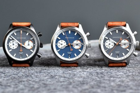 Chicago's Finest Watchmaker Introduces a Racing-Inspired Chronograph
