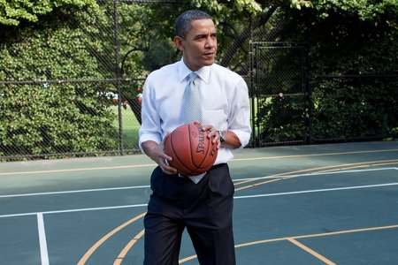 Obama's 45-Minute Workout Playlist Has Dad Written All Over It