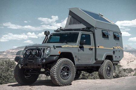 Jeep Wrangler Loses Two Doors, Gains a Camper, Calls It a Win