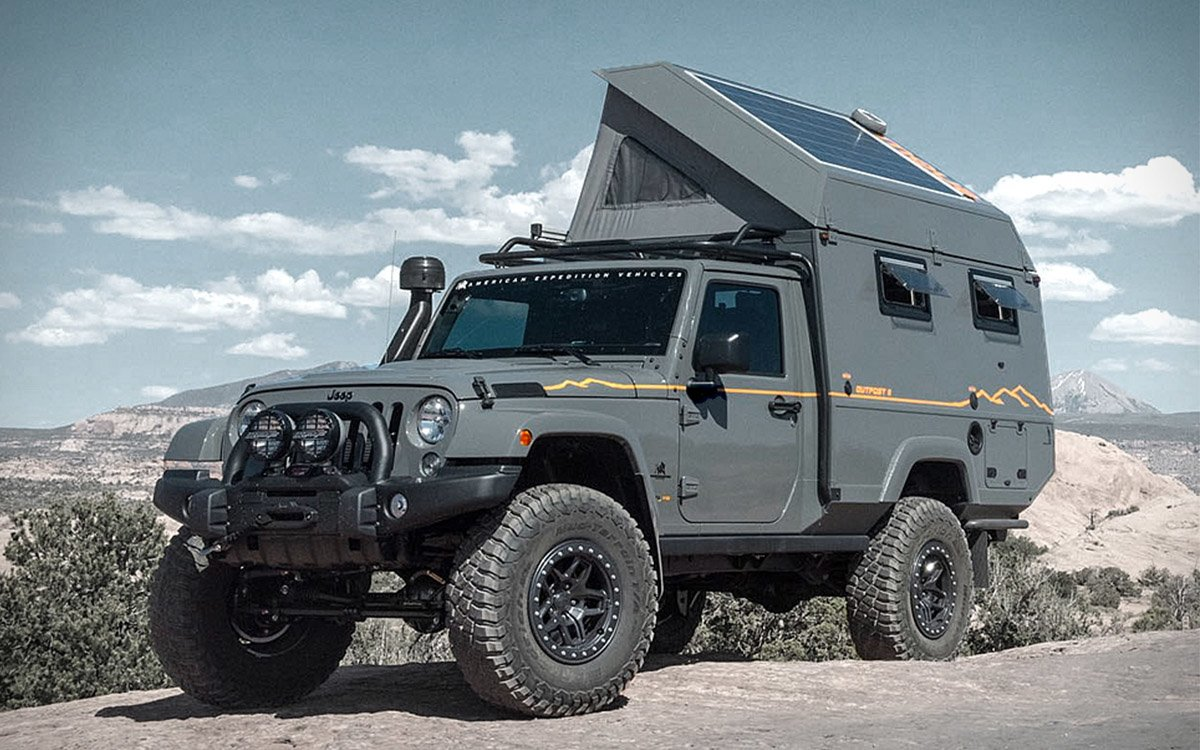 Jeep Wrangler Loses Two Doors, Gains a Camper, Calls It a Win