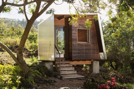 This Hawaiian Cabin Forgot to Put Its Clothes On
