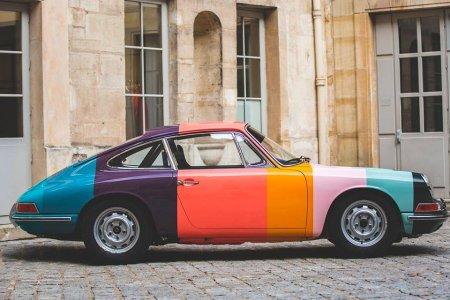 Candy-Striped 911 Is Porsche's 70th Birthday Cake, Basically