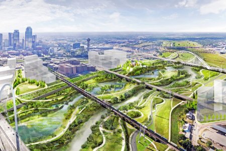 Dallas Set to Break Ground on Country's Biggest Urban Park Because Texas