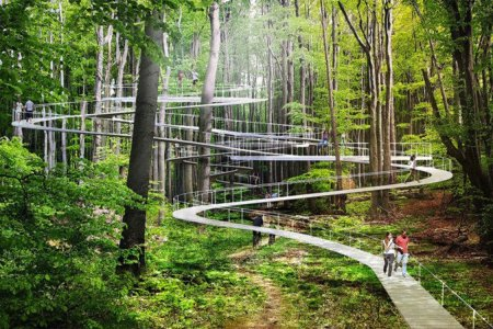 Impossibly Cool City Park Will Include Suspended Walkways, Trampolines