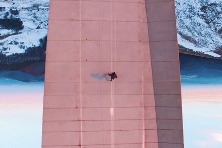 Drone + Parkour = Real-Life Video Game