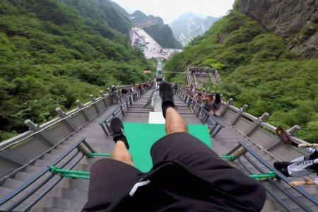 The Secret to Finishing the World's Largest Parkour Course Is an Iron Stomach