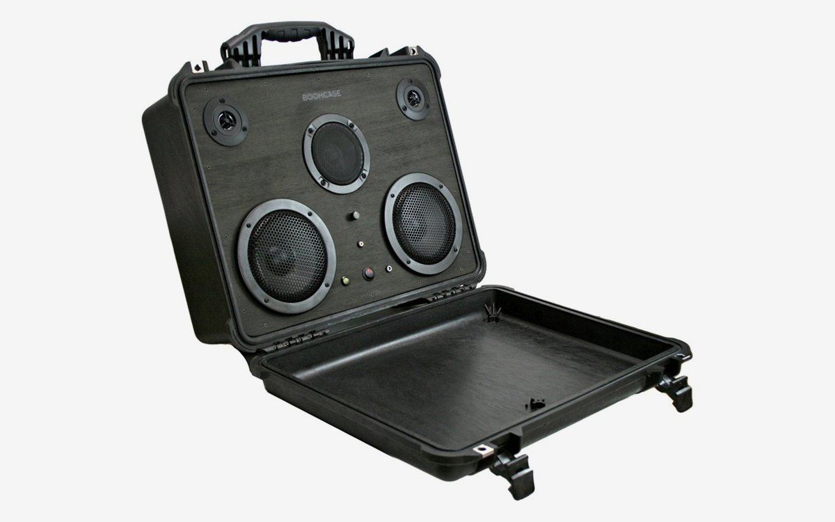 This Stereo-in-a-Suitcase Is 100% Waterproof