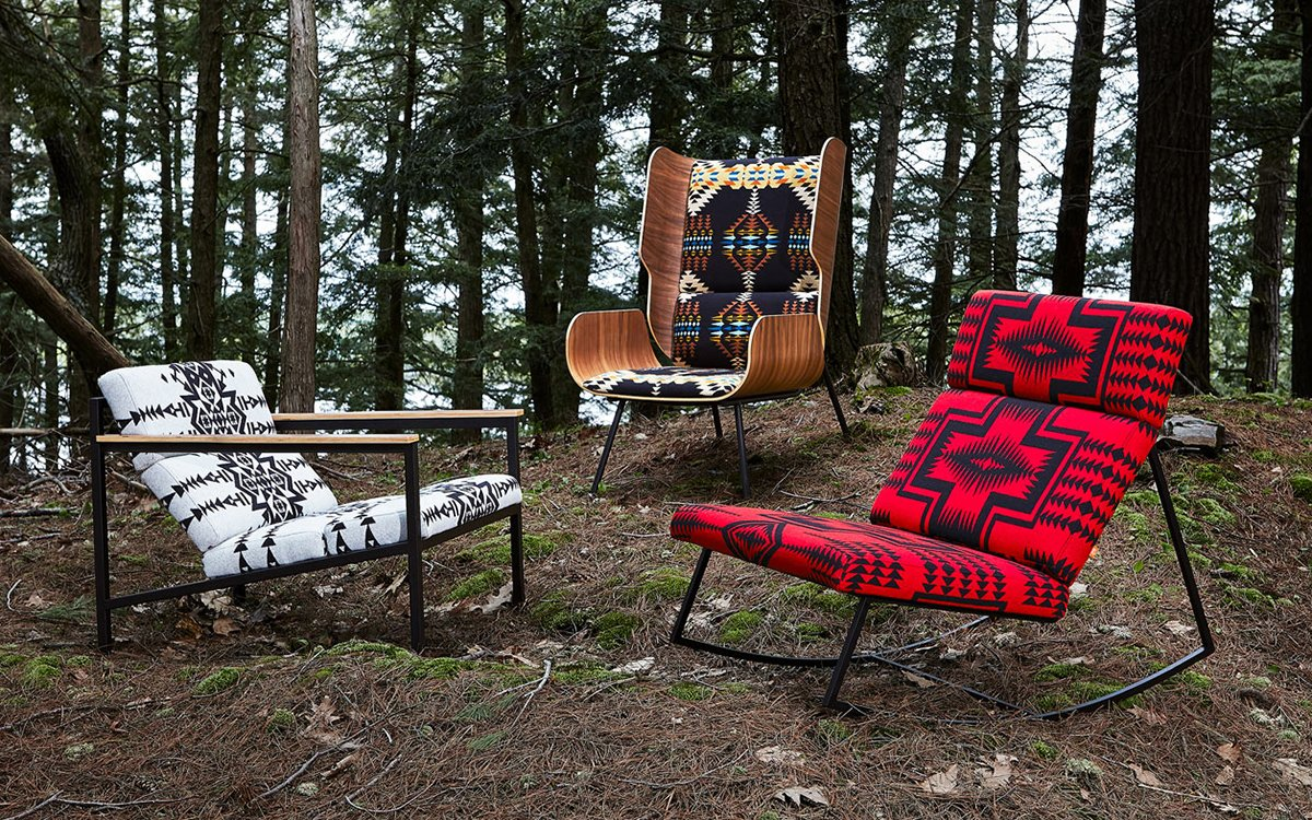Pendleton's New Chair Collection Belongs in Every Ski Lodge