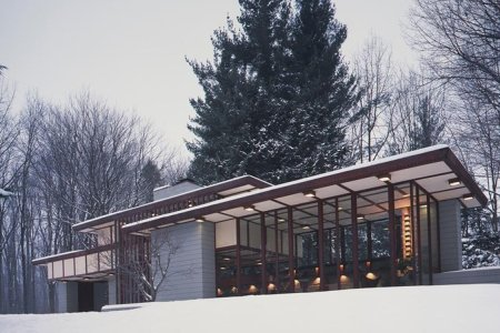 Buy One Frank Lloyd Wright House, Get the Plans for His Unbuilt Final Home Free