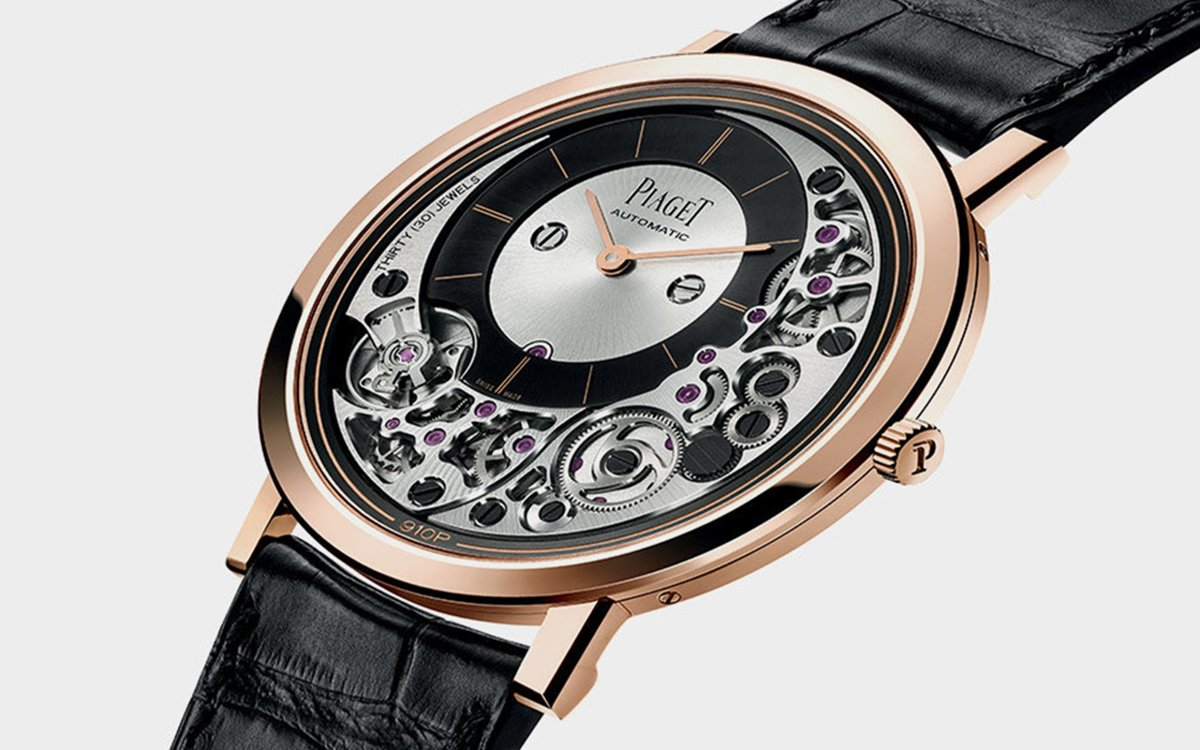 World's Thinnest Automatic Watch Has 238 Components, Somehow