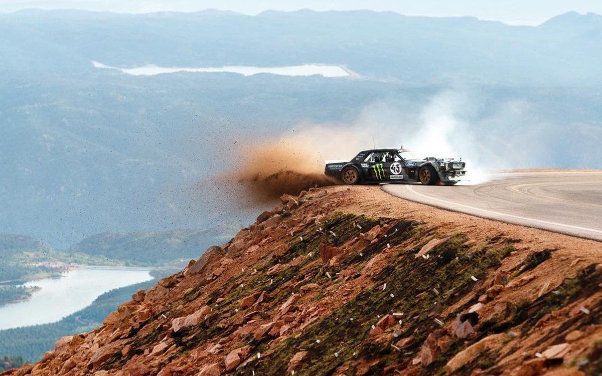 Ken Block Mustang >> Ken Block Gymkhana Series Unveils Climbkhana Pikes Peak