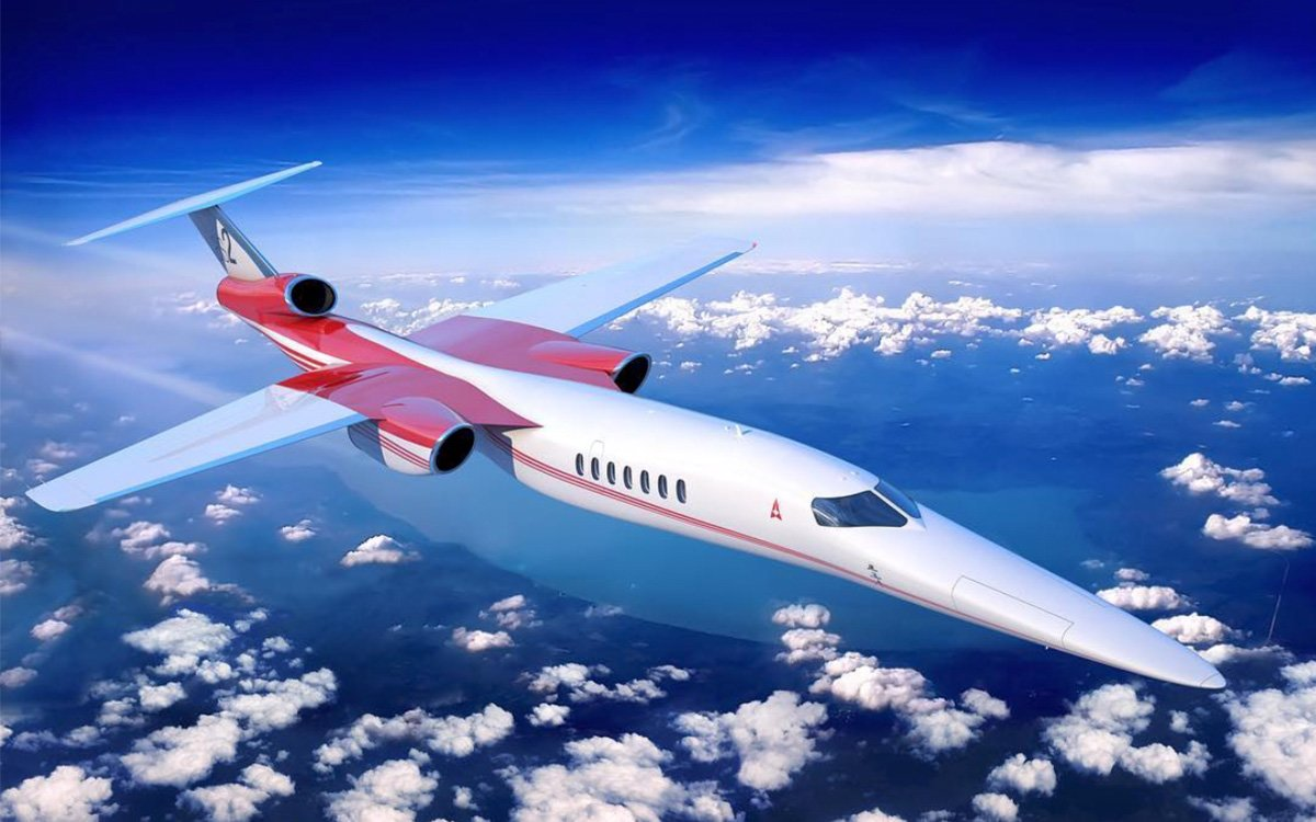 Speed of Sound? This 1,075-MPH Supersonic Jet's Never Heard of Such a Barrier.
