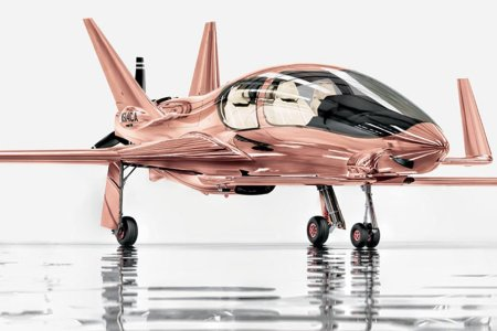 Add This Rose-Gold Private Plane to Your Holiday Shopping List