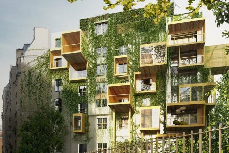 Hopefully the U.S. Takes a Cue From This Green Paris Apartment Building
