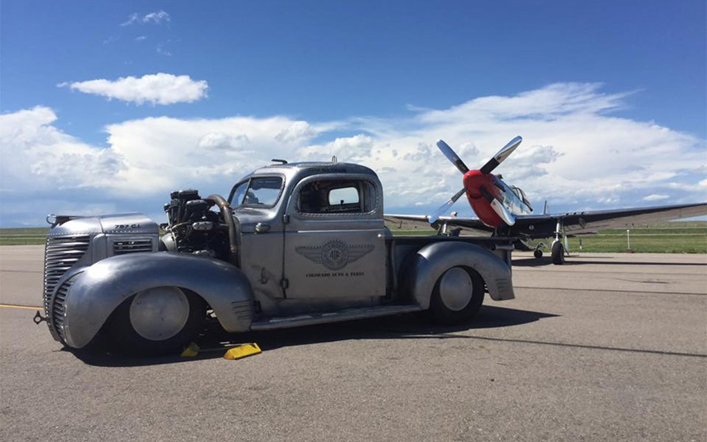 Plymouth Pickup with a Cessna Seaplane Engine Video - InsideHook