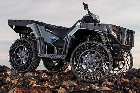With Indestructible Tires, Ya Better Believe the World Is Your Oyster