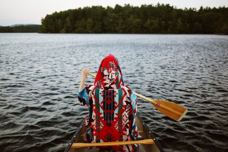 Poler Stuff and Pendleton's Amazing Technicolor Camping Gear Is Hard to Miss