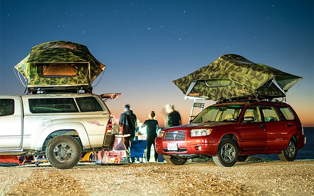 Two of Our Favorite Gear Brands Teamed Up on a Camo Roof Tent