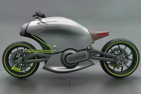 So This Porsche E-Bike Concept Looks Positively Ridiculous