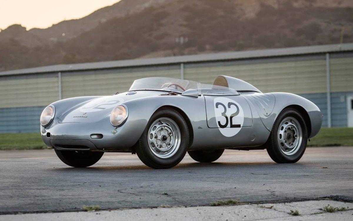 On Your Mark, Get Set, Bid on This Historic Porsche Spyder Race Car