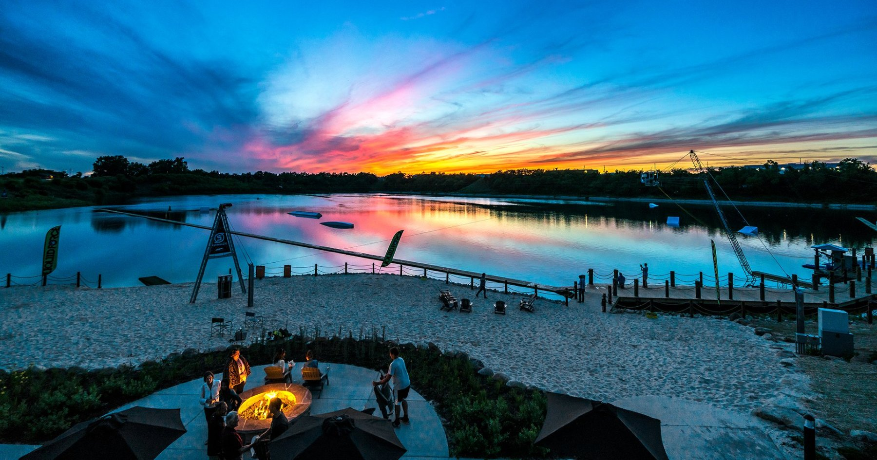 Inside America's New State-of-the-Art Wakeboarding Paradise