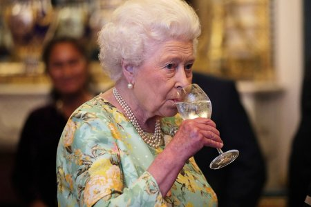 Queen Elizabeth's Daily Boozing Schedule Is Kind of Aggressive