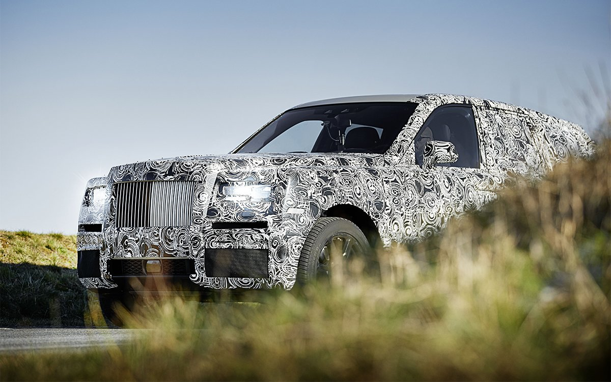 The Rolls-Royce SUV Looks Every Bit As Magnificent As We Imagined