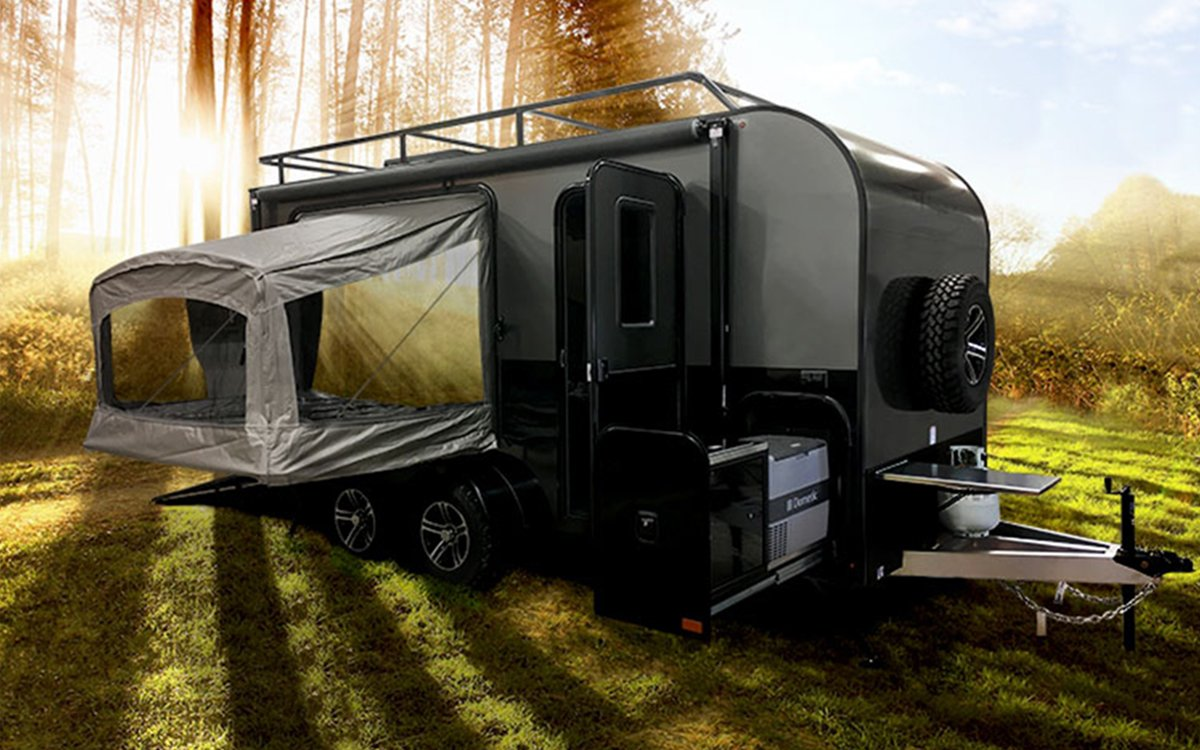 This Camper Insists on Being a Garage