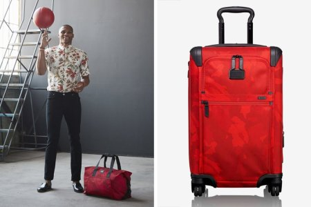 Russell Westbrook's TUMI Collection Is Very Easy to Spot at Baggage Claim