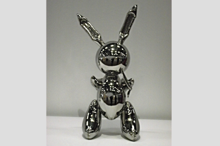 "Jeff Koons' ""Rabbit"""