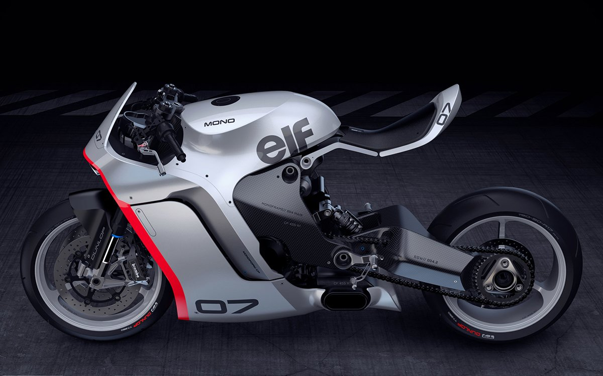 Fingers Crossed This Bonkers Concept Bike Becomes a Reality