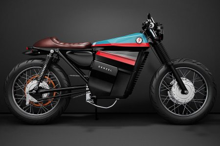 We're Making Exaggerated Cartoon Wolf Howls at This Electric Motorcycle