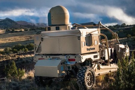 These ATVs Can Blast Drones Out of the Sky With Frickin' Laser Beams