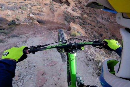 Watch This POV Bike Ride Through the 'Impassable' Red Rocks of Utah