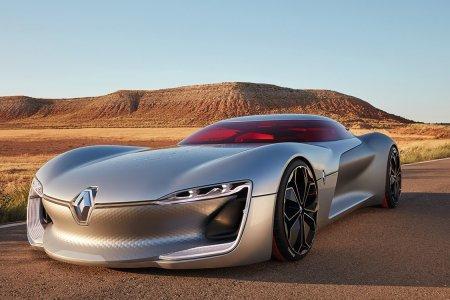 Renault's Electric Concept Coupe Has Us Going Ooh La La