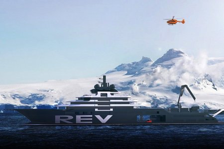 A Billionaire Is Building a Yacht for the Good of Mankind