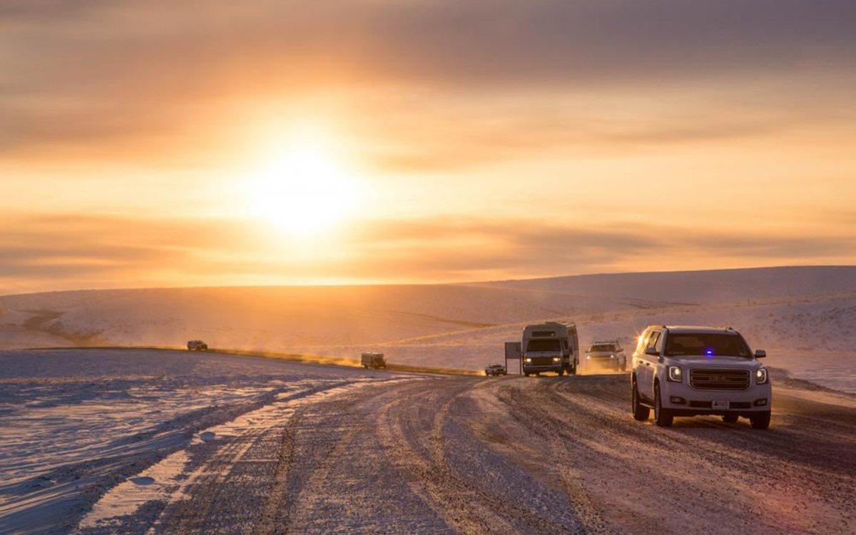 Canada's New Arctic Coastal Highway Is Beautiful, Freezing