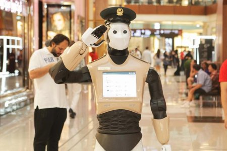 An Actual RoboCop Is Now Reporting for Duty, Because Dubai