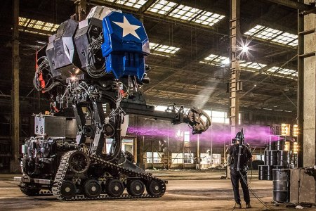The US and Japan Had a Giant Robot Fight and You Can Watch It