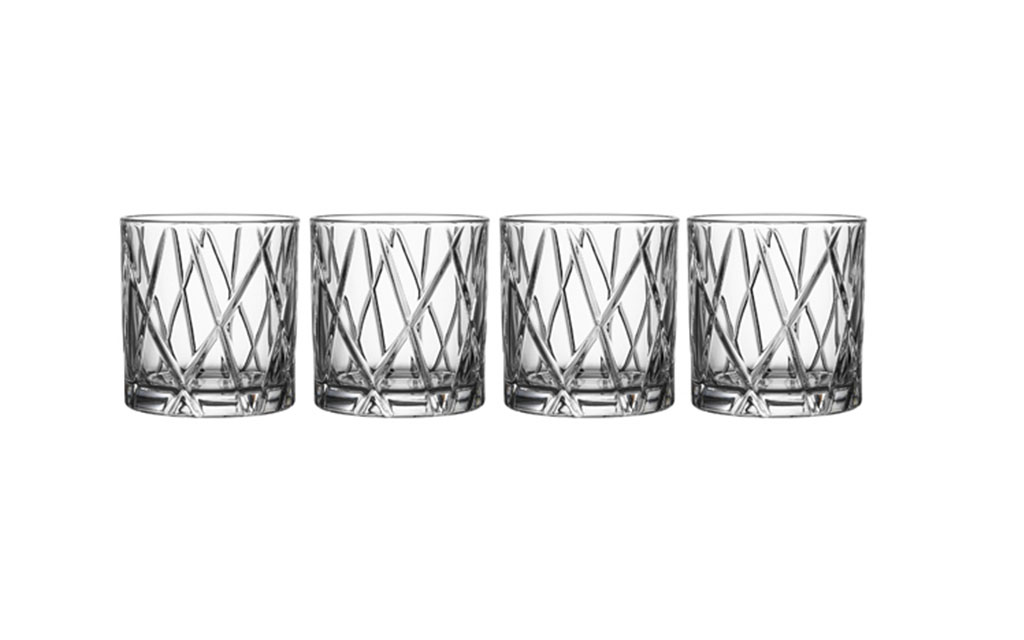 Orrefors Crystal Old Fashioned Glasses
