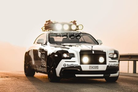 Ever Seen a Rolls-Royce Built for the Ski Slopes?