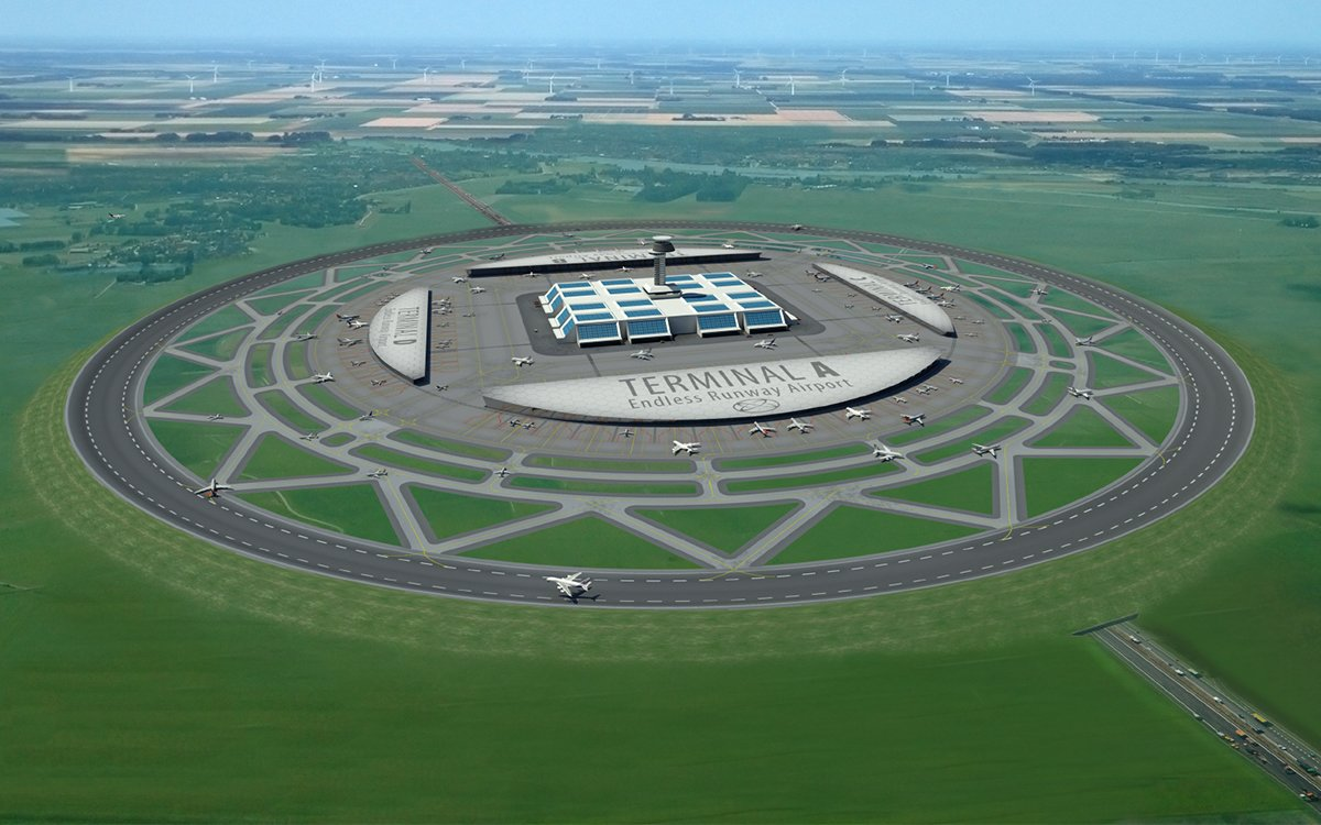 Smartypants Engineer Guy Says Circular Runways Are Better Than Straight Ones