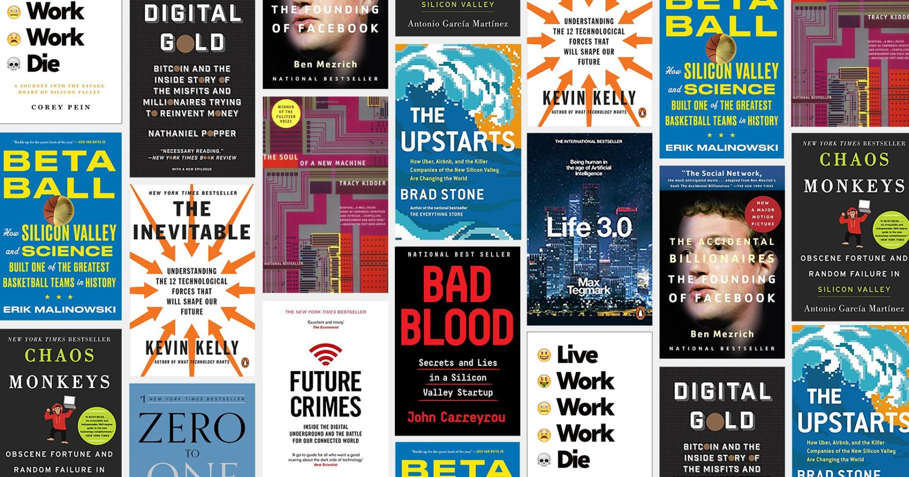 14 Essential Books on the Titans (and Threats) of Tech Today