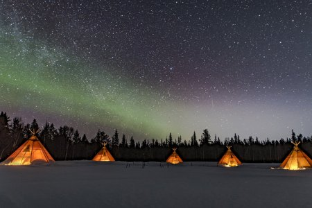 Add These Traditional Nordic Lavuu Tents to Your Travel Bucket List